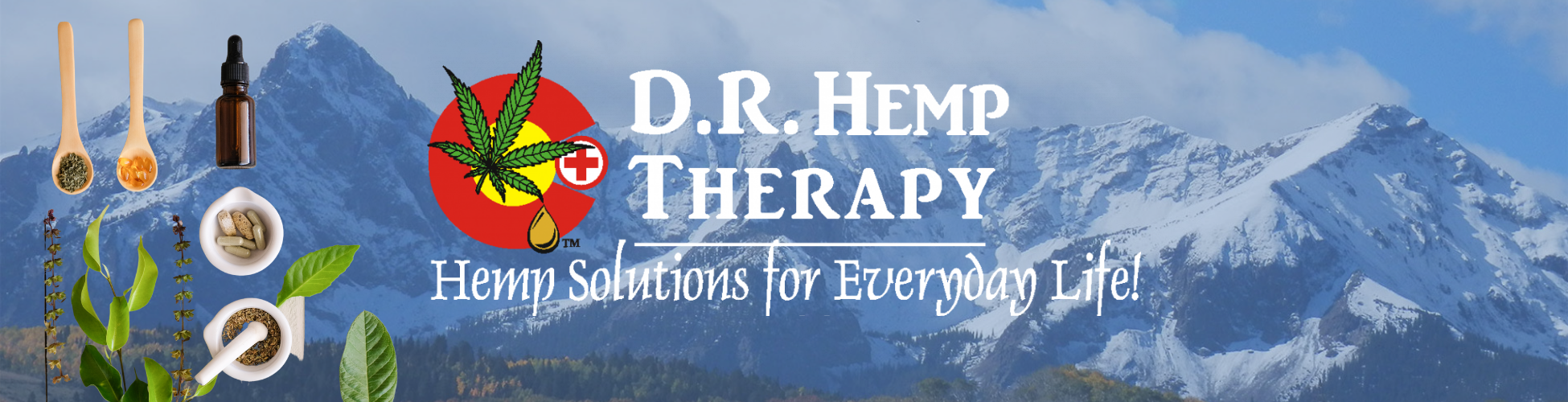 D.R. Hemp Therapy Banner